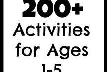 Kids activities / Ideas
