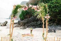 Wedding: Palmleave theme / *