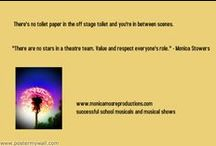 Directors Tips & Tricks / The Secretes to a Successful Musical! I have had YEARS of experience putting on musicals, interactive shows and teaching drama in schools. I have also assisted many schools, theatre groups and businesses during the production period of their shows. I have worked mostly in the capacity of producer and director and would love to share my knowledge with you!