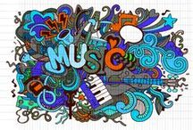 The Art Of Music / Visual art combined with music.