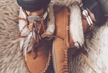 Moccasin ❤ / I love moccasins. Tall ones, short ones, ones with fringe, ones with fur.