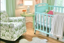 Beautiful Nurseries / Designing your baby's nursery is one of the most inspiring parts of becoming a mom. Embrace your unique style and create your perfect baby room with a little designer inspiration below.