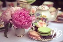 Чаепитие в Английском стиле / Свадебное чаепитие в английском стиле. Рекомендую для свадьбы в Чехии. Cupcakes, cake pops, cakes and other sweets