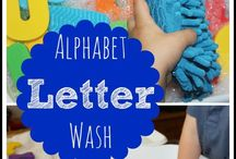 Alphabet Crafts and Activities / Wonderful alphabet crafts and activities can help young children learn uppercase and lowercase letters.  Flashcards have their time and place but there are more fun ways to learn the alphabet! / by Kristen Hopwood