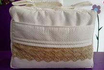 BOLSOS: PRIMERA PARTE / Bolsos de viaje, bolsos maternales, bolsos de silla, paneras,....