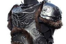 medieval armor and cloth / by Billa Vikhyath