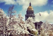 Dazzling Denver / Denver, CO is a city unlike many... Downtown feeling, or quaint family neighborhoods, you are never bored!
