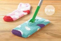 """Clever Ideas / DIY, Cleaning or Clever """"to-keep"""" ideas for around the house."""