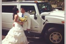 Wedding Limousine Service / Wedding Limousine and Party Bus Service If you're thinking about a luxurious, convenient and enjoyable way for you and your guests to get to and from your wedding party, we have the perfect solution. Make your special day unique with one of our Wedding limousine and party bus rental. We will make sure that your wedding day will be one of a kind.