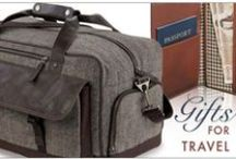 Unique Branded Travel Gifts & Essentials / Your brand will take flight when it's imprinted on these travel essentials and custom travel promotions! From passport holders to luggage tags, we have what you need to travel the globe.