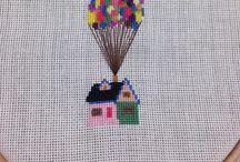 Cross stitch / Coarse muslin, felt, decorating lovely rooms, baby, kids, elders...❤️
