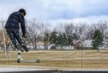 Best Kick Scooter Tricks for Beginners / Top 5 List of The best novice Kick Scooter Tricks For Beginners http://toyrider.com/best-kick-scooter-tricks-for-beginners-top-5-list