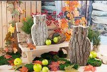 Herbstdeko von Mon Decor / Inspirieren und inspirieren lassen - Trendige Herbstdeko und Deko-Ideen für Wohlfühlmomente von Mon Decor.