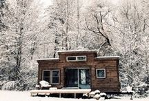 HOME | Tiny House / Seems like such a cool idea!! But could I actually do it?!?!?