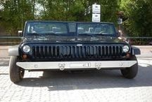 Custom Cars & Vehicles / Cars and other motor vehicles that are customized to a bizarre degree.