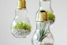 Ideen für einfache Home Deko / Dekorationen müssen nicht immer aufwendig sein..