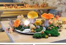 Herbstliche Tischdeko / Der #Herbst ist da Langsam wird es draußen kühler und da wir immer mehr Stunden in den eigenen vier Wänden verbringen ist es an der Zeit unser zu Hause gemütlicher zu machen und unsere Liebsten einzuladen. Ein herbstlich #dekorierte Esstisch lädt zum gemütlichen Beisammen ein. Ideen und Inspirationen für eine #herbstliche #Tischdeko findet Ihr hier. Viel Spaß beim nachmachen =)
