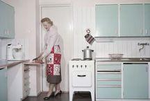 Kitchen / Kitchen, 60s, 50s, retro