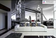 Bespoke Wall Murals / A collection of our bespoke Wallpaper Ink range of custom wallpapers.