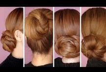 Hair Buns & Updo