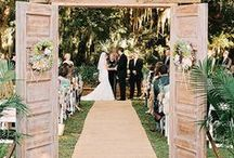 Down the aisle/ Cestou k oltaru / How to make the walk down the aisle magical