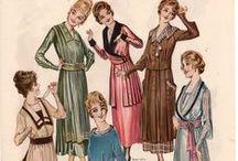 vestidos... época / vestidos, peinados, complementos,... de  época