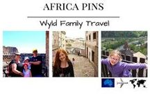 Africa with Wyld Family Travel / From the lush green fields of Southern Africa to the dry arid desert of North Africa