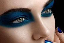 MakeUp Blue / Blue Inspired make up looks