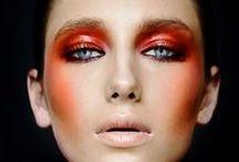 MakeUp Orange / Orange colour looks