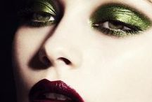 MakeUp Green / Green themed makeup