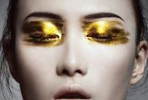 MakeUp Gold / Gold looks