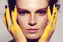 MakeUp Yellow / Yellow make up looks