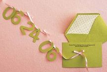 Stationery + Invitation Love / Paper, stationery, invitations, greeting cards, calligraphy and more.
