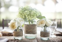 Glass jars & bottles / I love vintage style jars to be turned into something functional and pretty  / by Button Love (Candice)