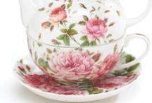 Teapots, Tea Cups And Teas