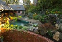 Porches, Patios, Ponds & Decks