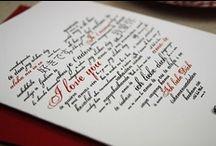 Schriftzüge / Letters