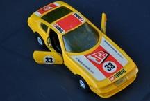 Vintage legetøjsbiler / Biler jeg har ejet da jeg var ung :-)