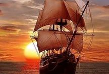 Ships, Sails and Sunsets