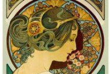 •Art Nouveau / Illustrations Arts Nouveau et Art Déco