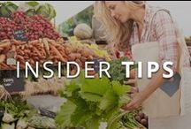 Insider Tips / Get the latest fitness tips!
