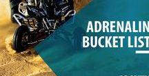 Adrenalin Bucket List / Lust auf eine Pause vom Alltag? Ob Bungee Springen, Quad Tour oder Canyoning: Lass Dich inspirieren und finde Erlebnisse mit dem extra Adrenalinkick, die auf Deine Bucket List gehören! Viel Spaß beim Entdecken!