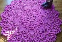Crochet Doilies and Rugs