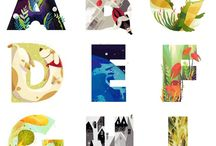 ABCs / Beautifully illustrated examples of the 26 letters that make up our language