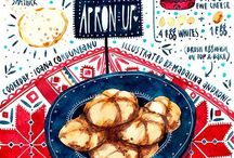 Beautiful Recipes / Yummy illustrations for the creative foodie