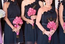 Navy Blue and Pink
