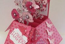 3D Paper Crafts / Paper crafted boxes, home decor, bags, etc.