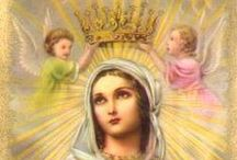 Holy Mary, Mother of God / Blessed Mother, Queen of Peace, Theotokos, Mother of Mercy