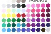 True Winter Cool Winter color palette / by këvlar soul