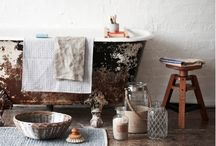 Bath Time x / Amazing spaces to bathe in x